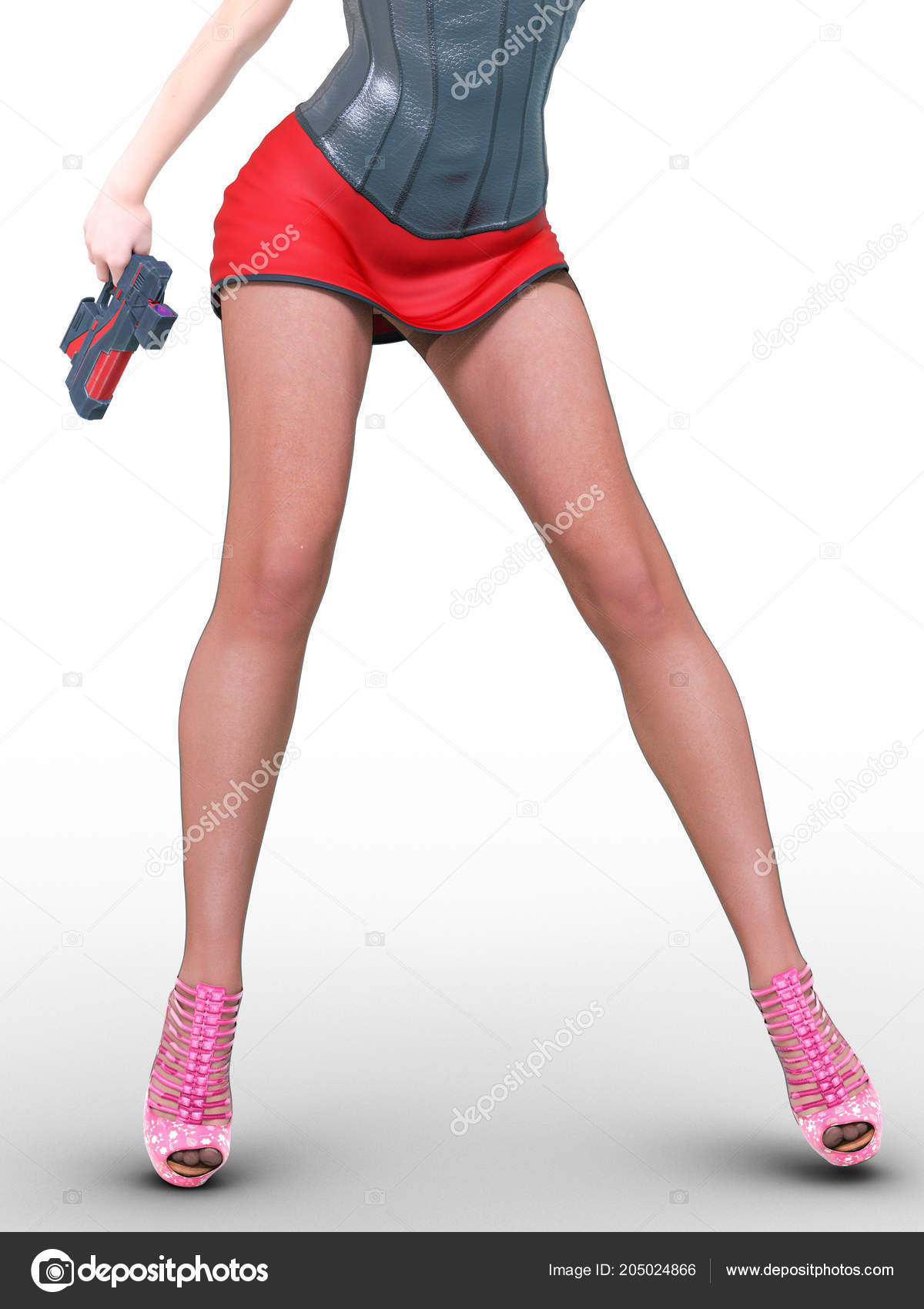Really. female muscular legs in a skirt commit