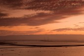 Fotografie Sonnenuntergang am Don Edwards San Francisco Bay National Wildlife refuge