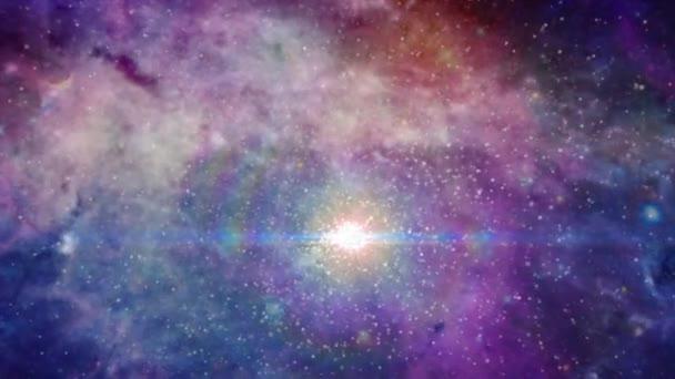 Háttér-animáció, a galaxy és a csillagok