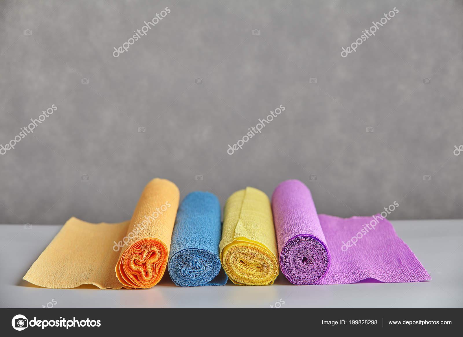 Rotoli Di Carta Colorata : Reticolo spirale estremità carta colorata intrecciati rotolo