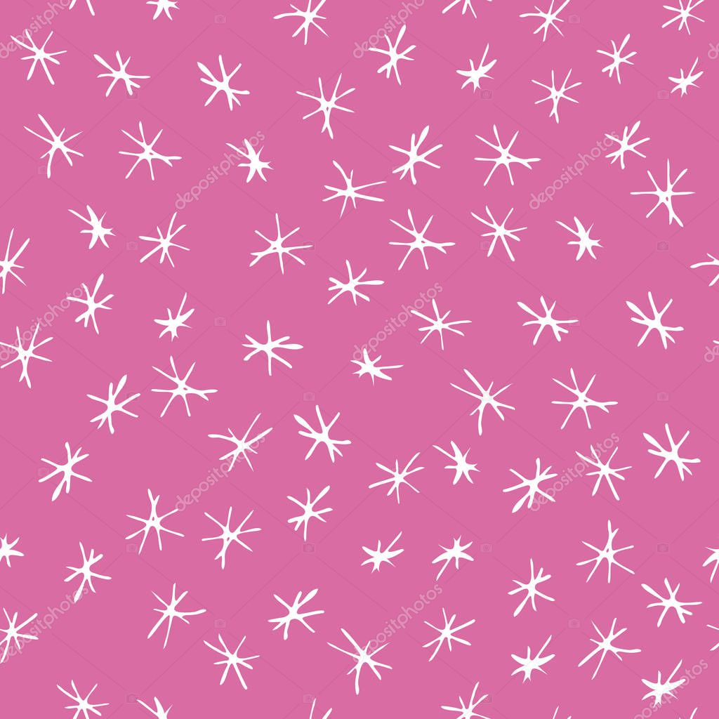 Pink And White Asterix Background Pattern Design Perfect For Fabric Wallpaper Stationery And Scrapbooking Projects And Other Crafts And Digital Work Premium Vector In Adobe Illustrator Ai Ai Format