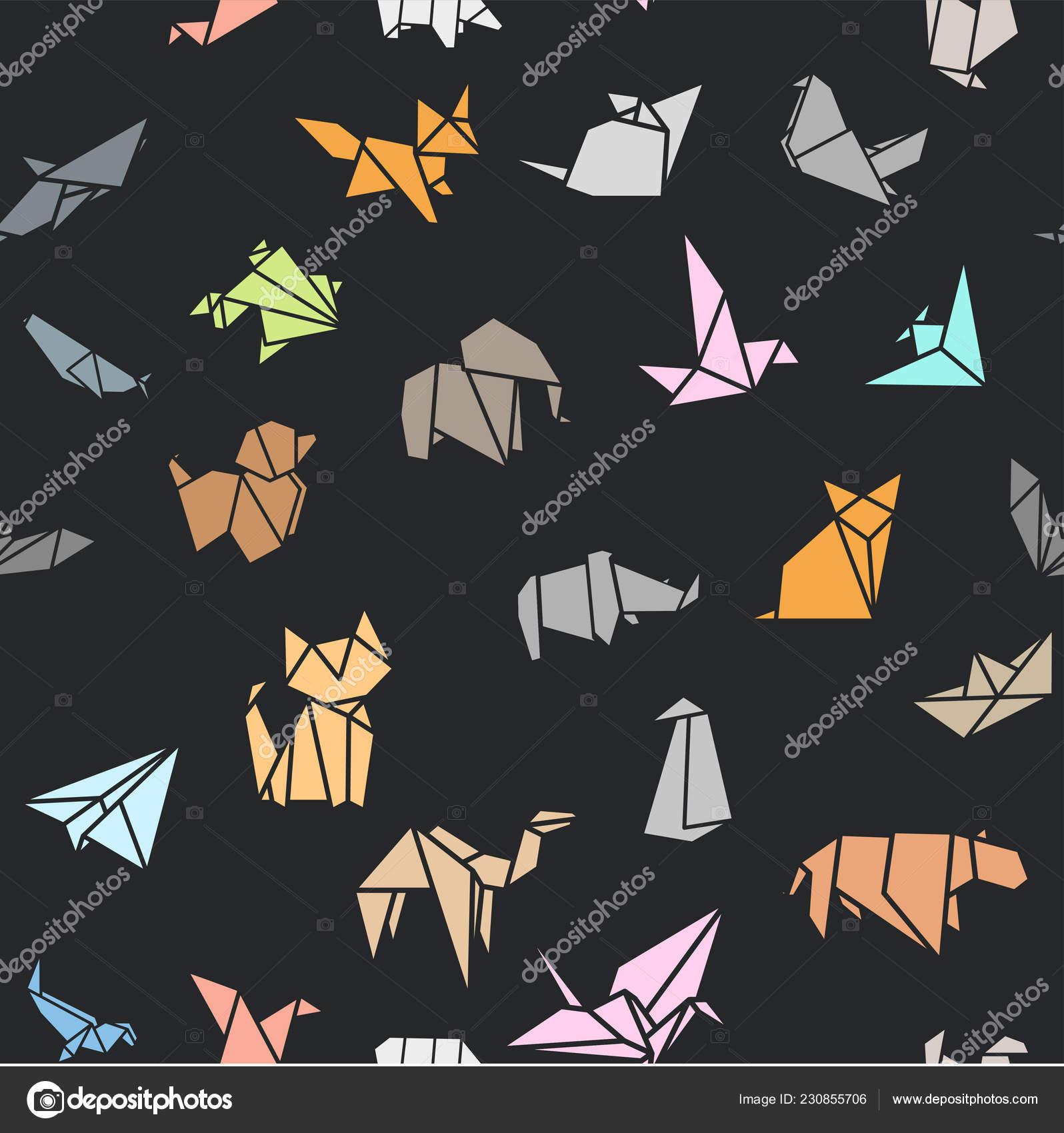Wallpaper birds, paper, colored, origami images for desktop ...   1700x1596