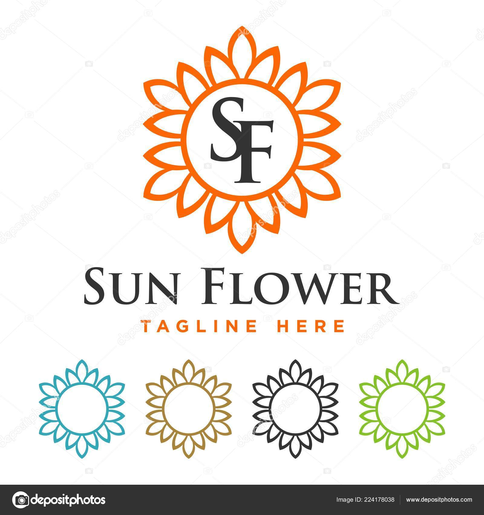 blossom flower border template vetores de stock soponyono 224178038