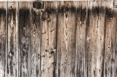 close up of textured brown weathered wooden planks