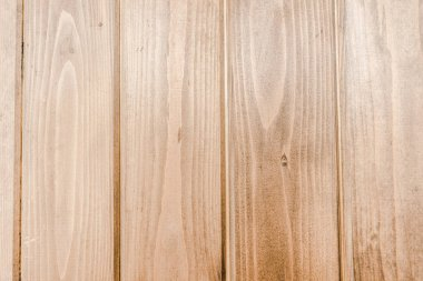beige shiny wooden empty planks with copy space