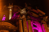 Blick auf die alte Dominikanerkathedrale in Lwiw
