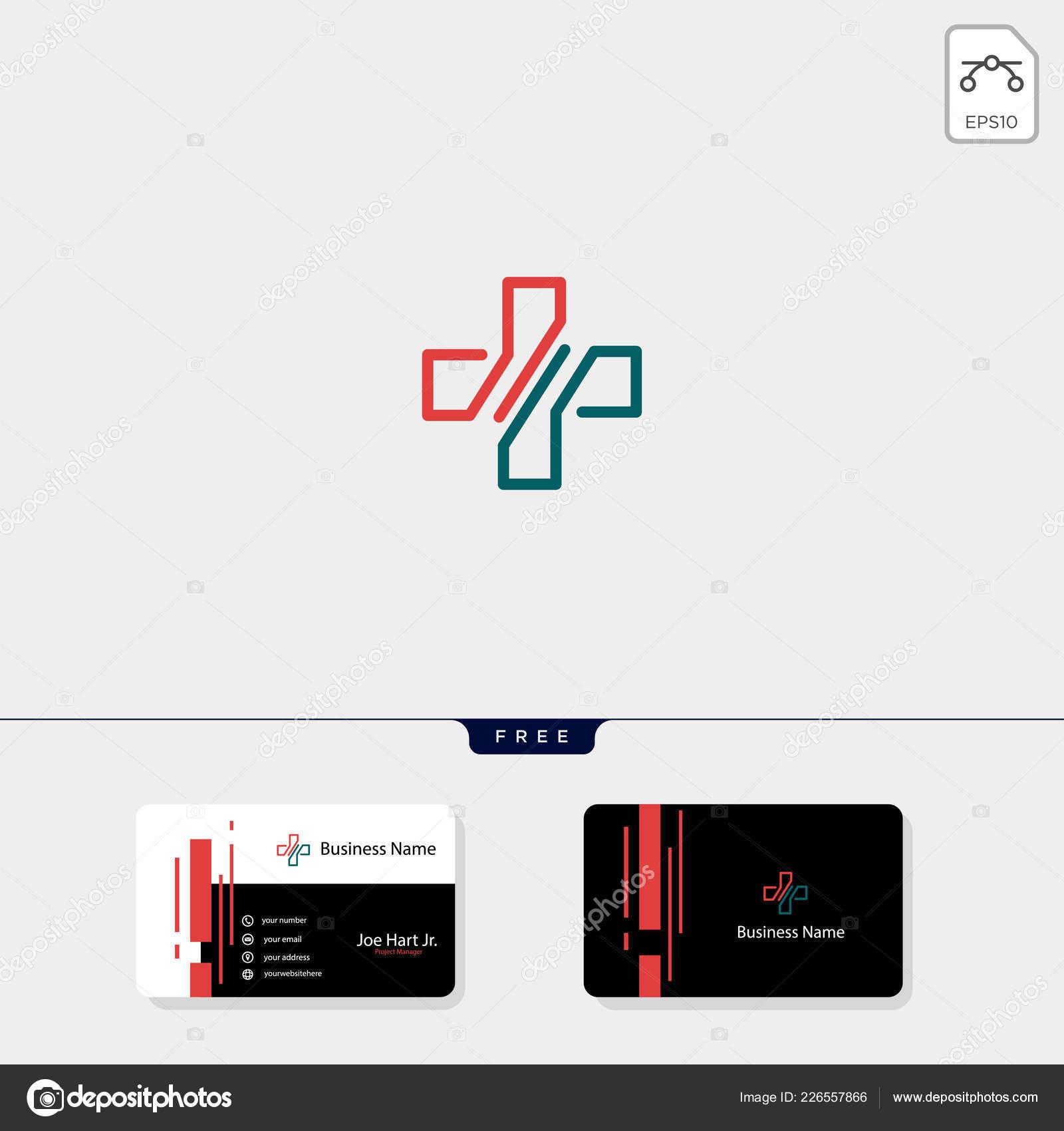 überqueren Sie Medizinische Apotheke Logo Design Template