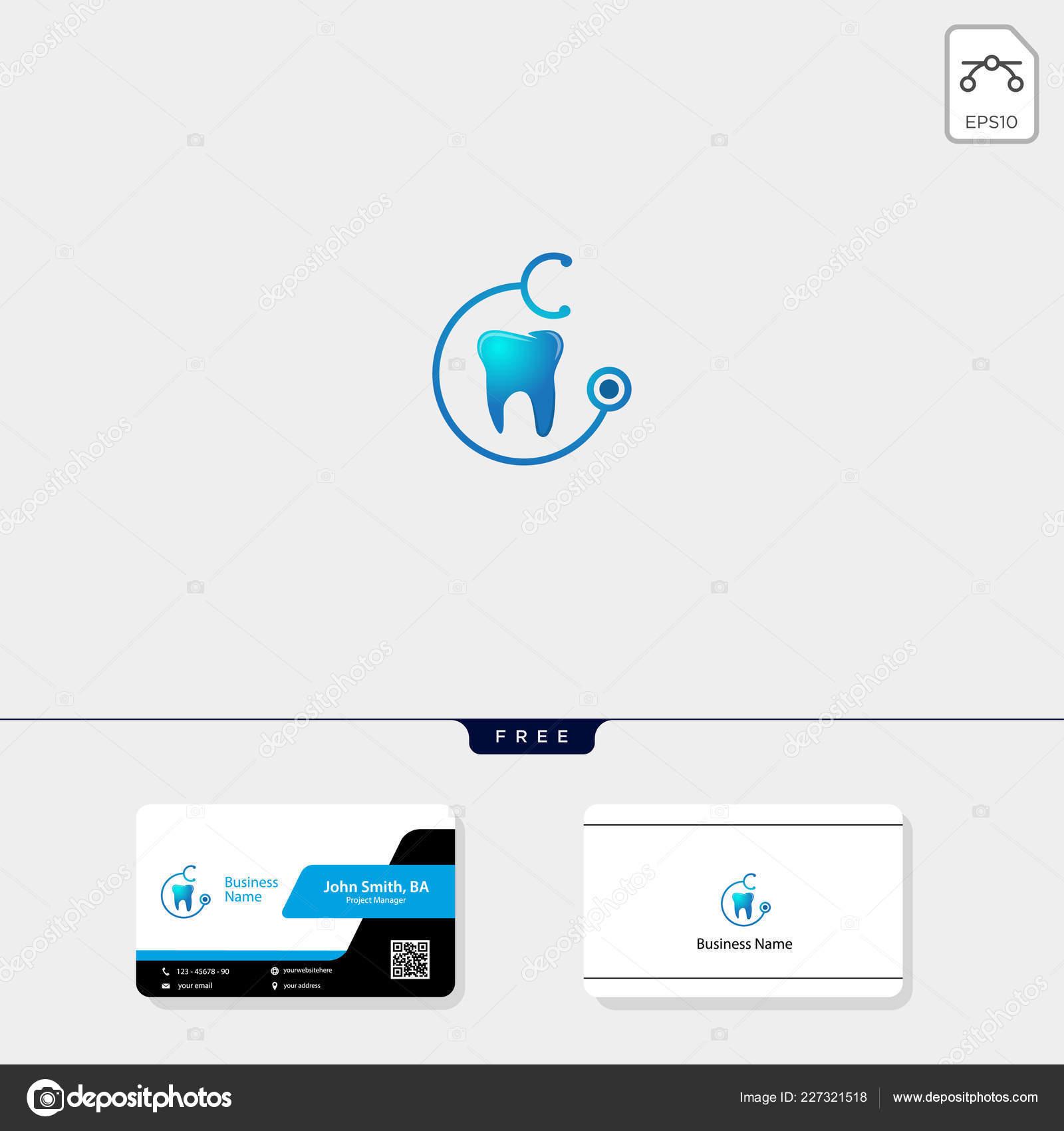 Dental Symbol Logo Vorlage Vektor Illustration Kostenlose