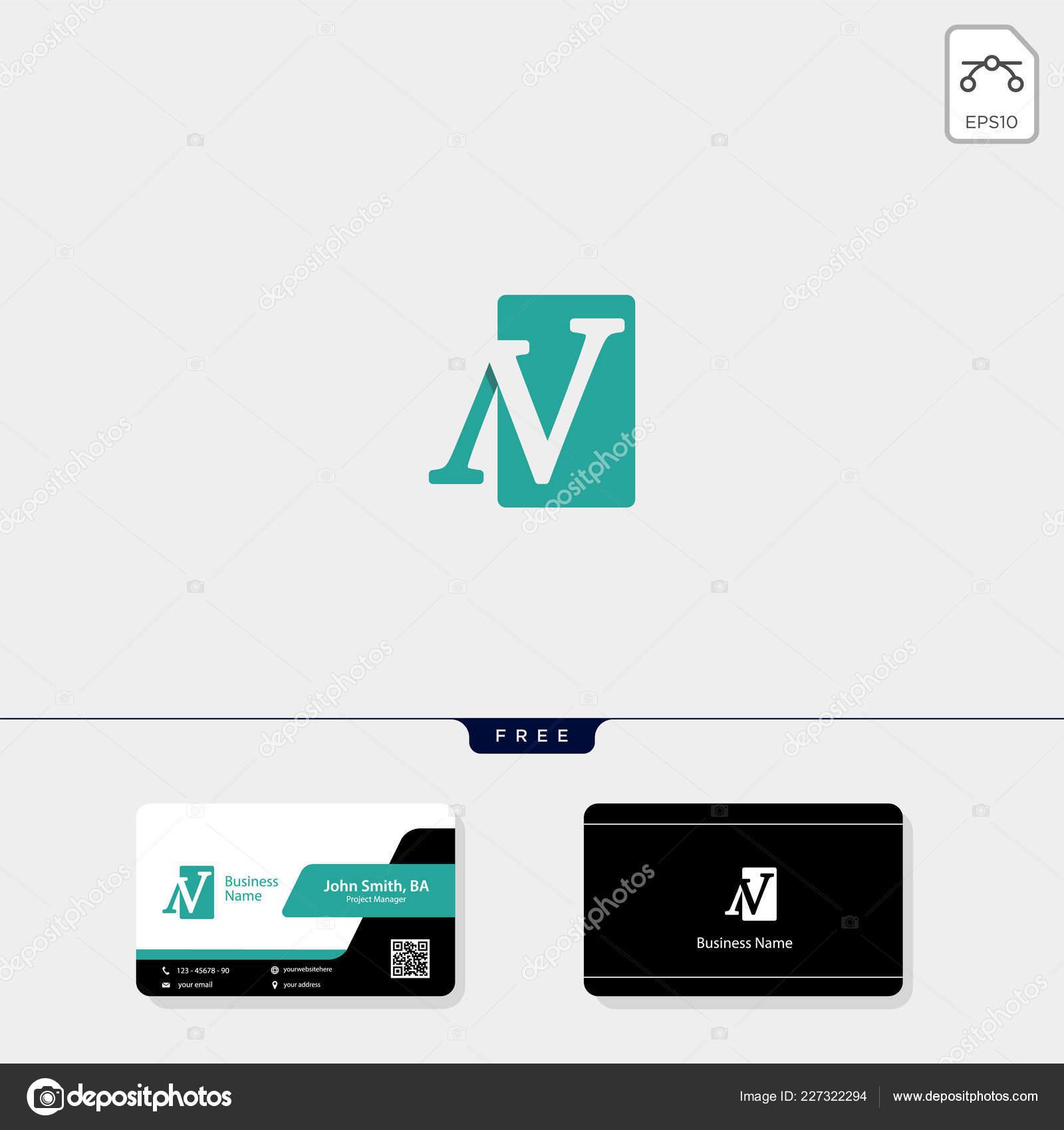 Anfängliche Oder Konzept Logo Vorlage Vektor Illustration