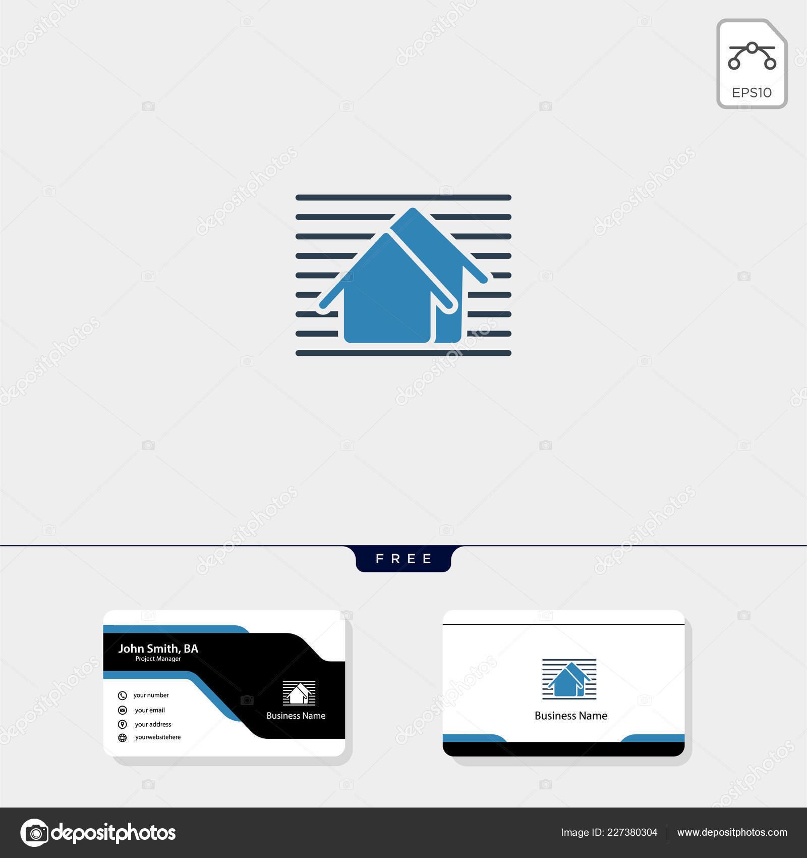 Home Reparatur Immobilien Gebäude Architekt Konzept Logo
