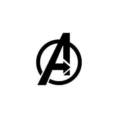 avengers Logo isolated vector icon symbol clipart