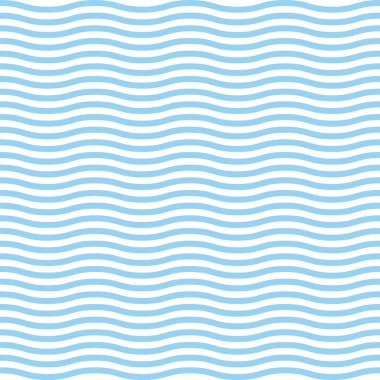Blue waves sea ocean vector illustration abstract pattern background colorful wallpaper water