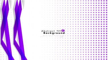 Bright abstract background. Vector template. purple , with a gradient point as the background