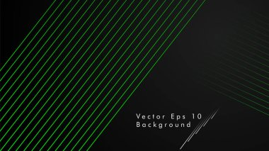 Abstract vector background. Geometric Lines , Creative and Inspiration Design .green color