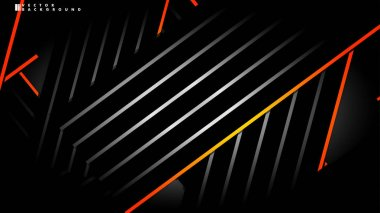 Abstract vector background. Geometric Lines