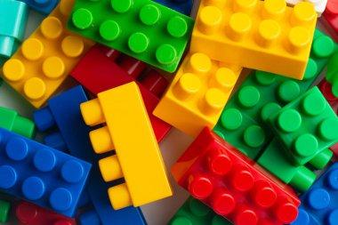 Kids development, Building blocks, Building construction and lorry