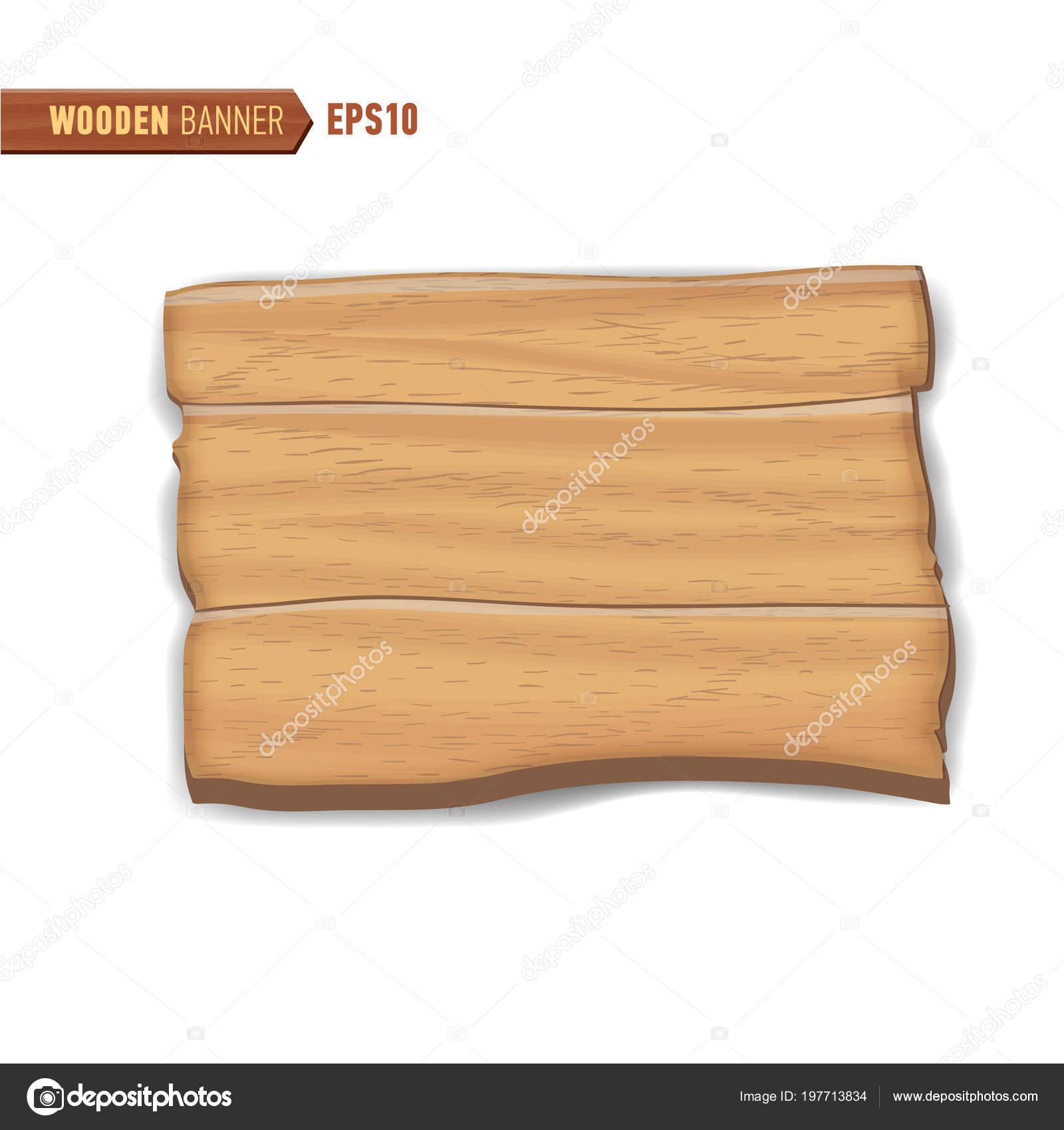 Hölzerne Schilder Vektor Holz Pfeil Schild Plakatwand Stockvektor