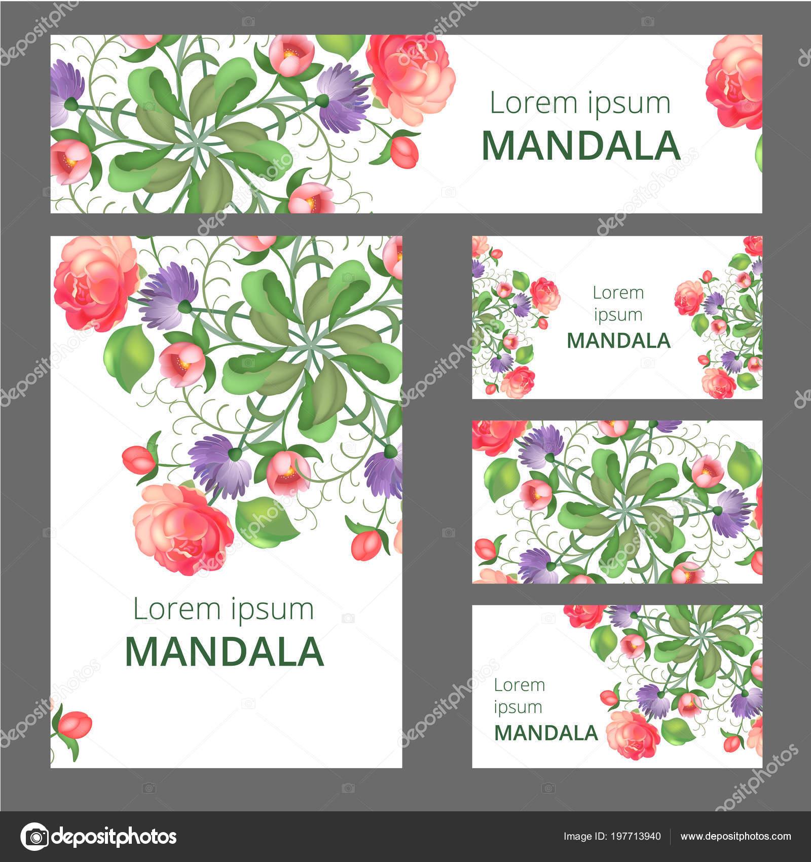 Floral Ornament Design-Vorlage. Kann verwendet werden, für die ...