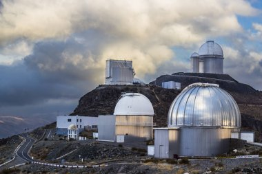 The astronomical observatory of La Silla, North Chile. One of the first observatories to see planets in other stars. Located at Atacama Desert in the altiplano