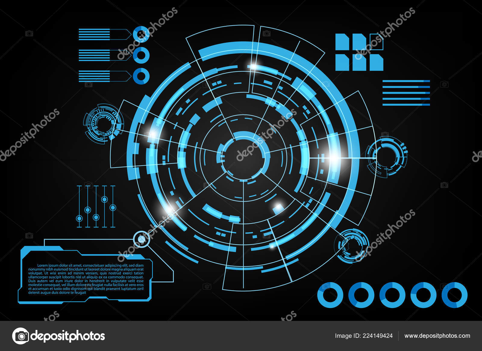 futuristic abstract background future theme concept background data dashboard graph stock vector c tfykub 224149424 https depositphotos com 224149424 stock illustration futuristic abstract background future theme html