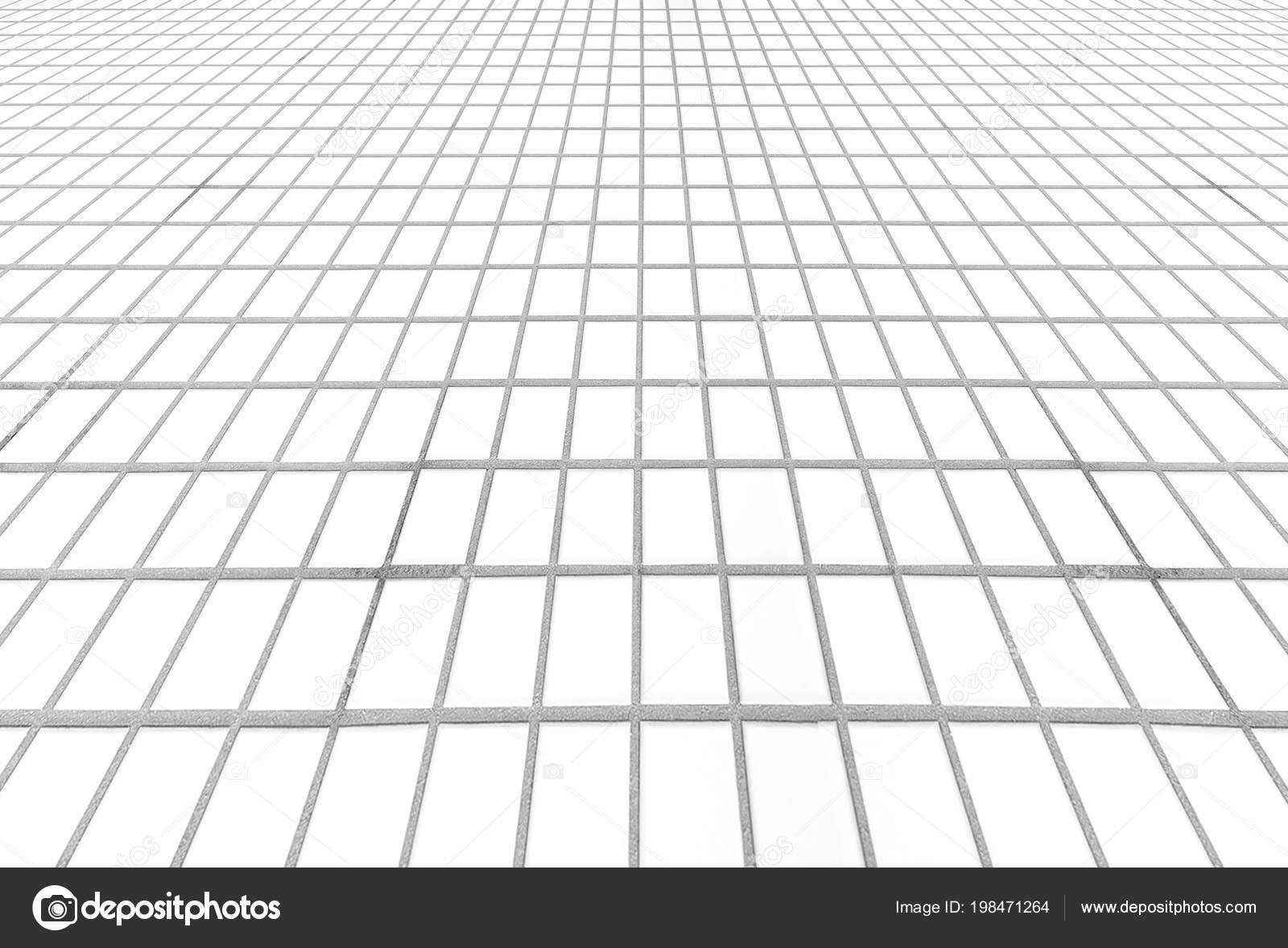 Freien Weissen Mosaik Fliesen Boden Hintergrund Und Textur