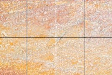 Outdoor stone block tile floor background