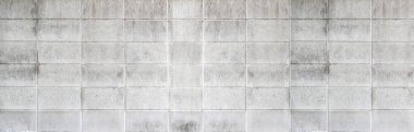 Cement brick wall pattern and seamless background