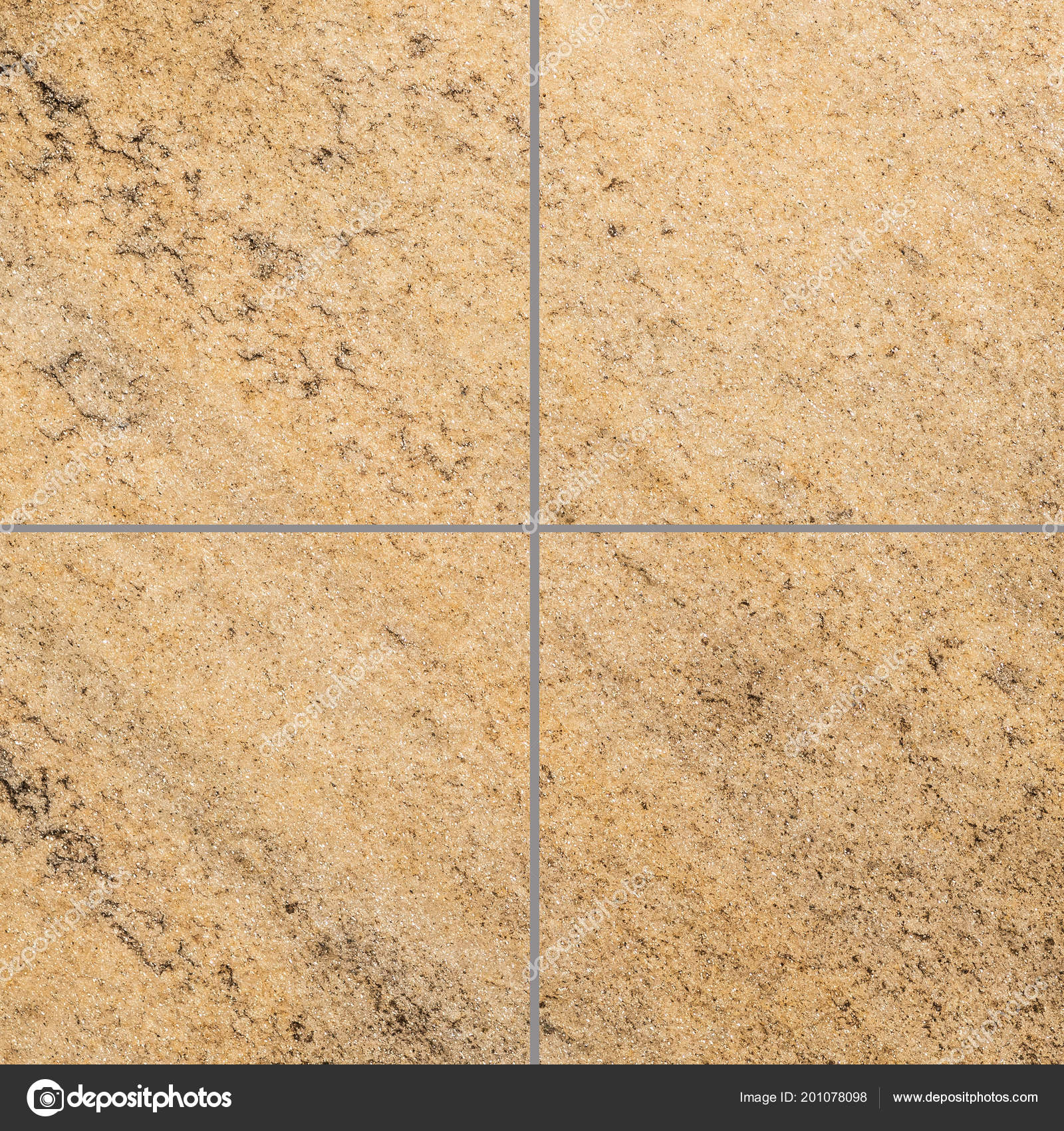 Outdoor Brown Stone Tile Floor Pattern And Background Torsakarin