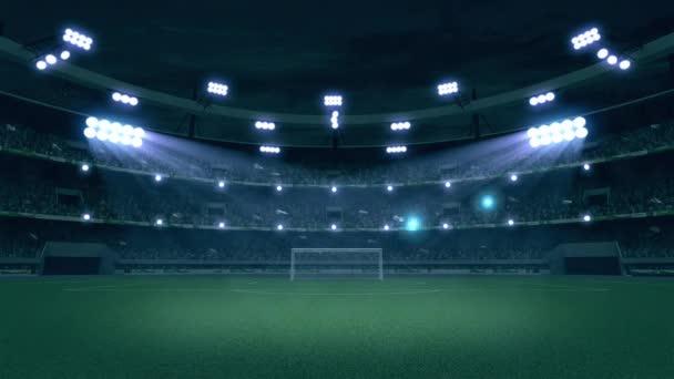 Videó a stadion, a tömeg