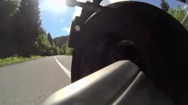 Motorové kolo zpět zobrazení
