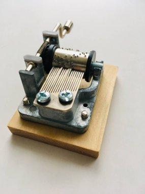music box, musical instrument, barrel organ
