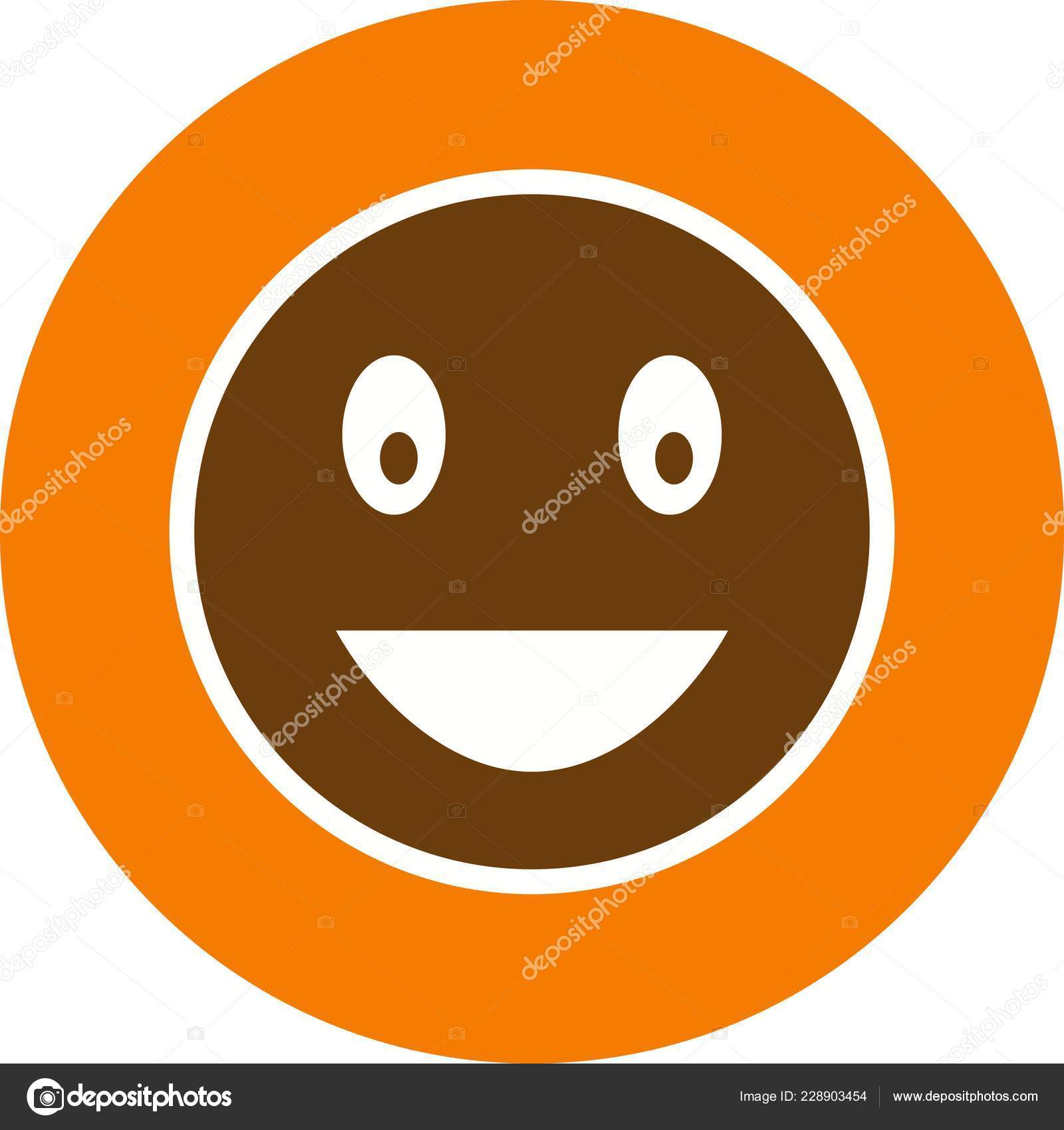 Laughing Emoji Vector Icon Sign Icon Vector Illustration