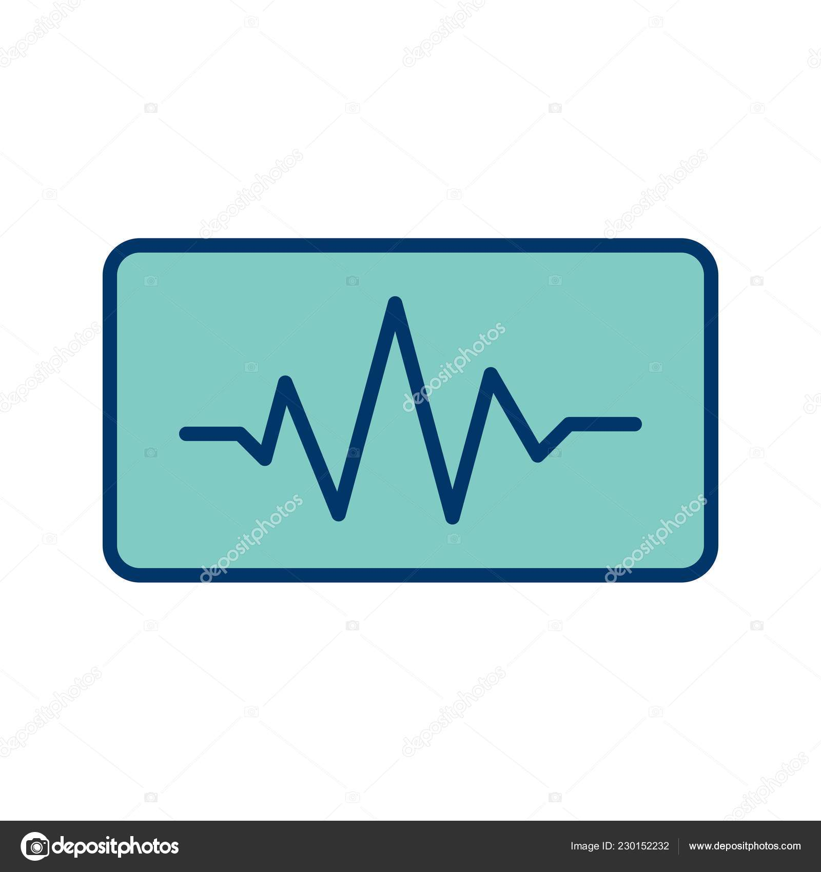 Sound Beats Sign Icon Vector Illustration Personal Commercial Use