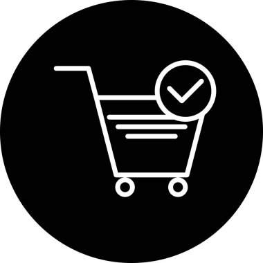 Vector E-Commerce Icon For Personal And Commercial Use.