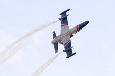 Aero L-159 ALCA light attack aircraft acrobatics