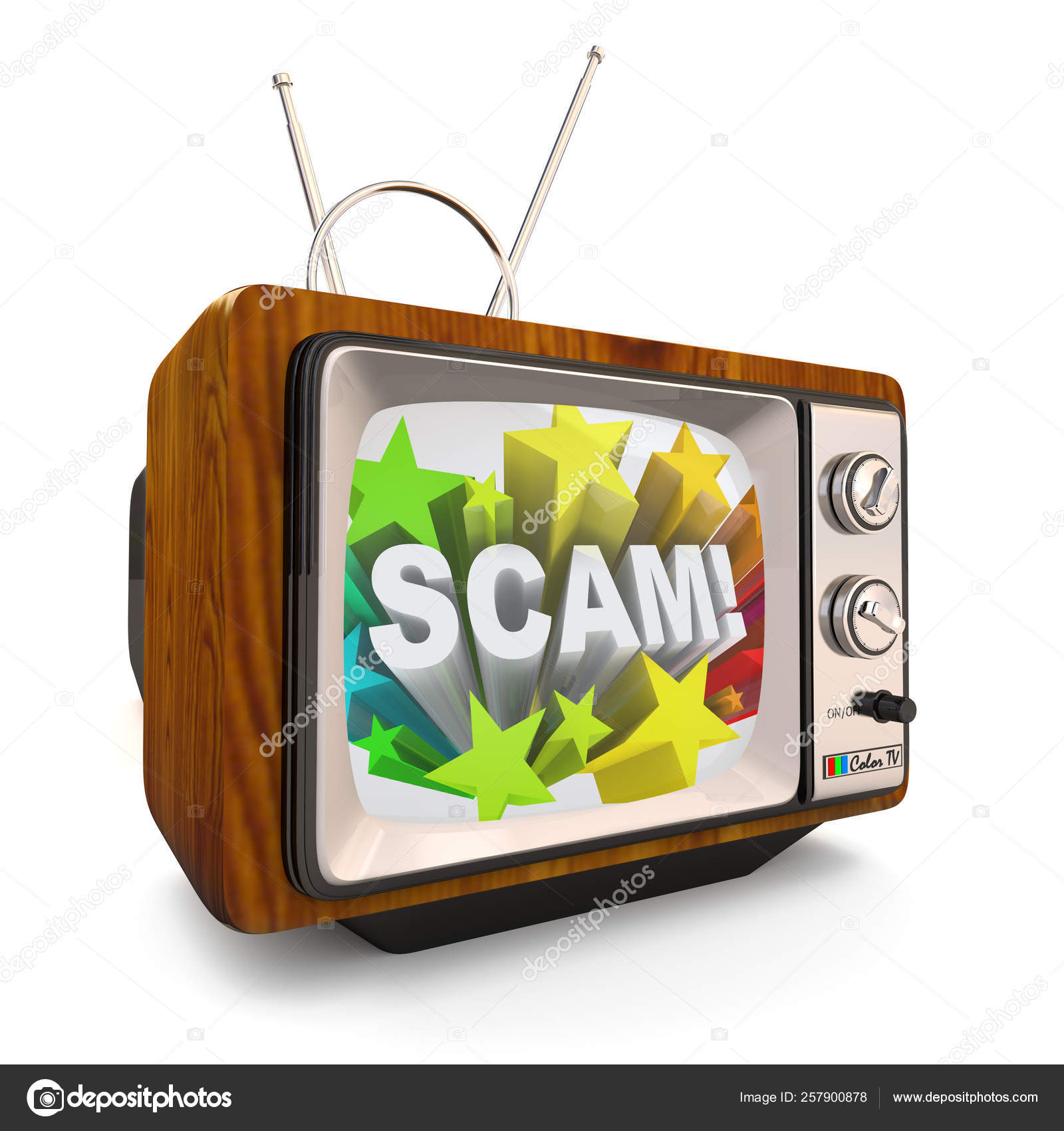 Old Fashioned Television Shows Word Scam Infomercial