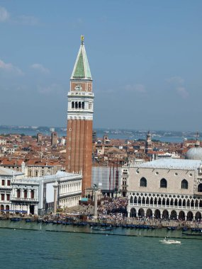 Venice - St. Mark's Square as seen from the tower of the church of San Giorgio Magiore