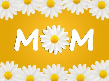 Birthday or Mother's Day card to Mom with daisies