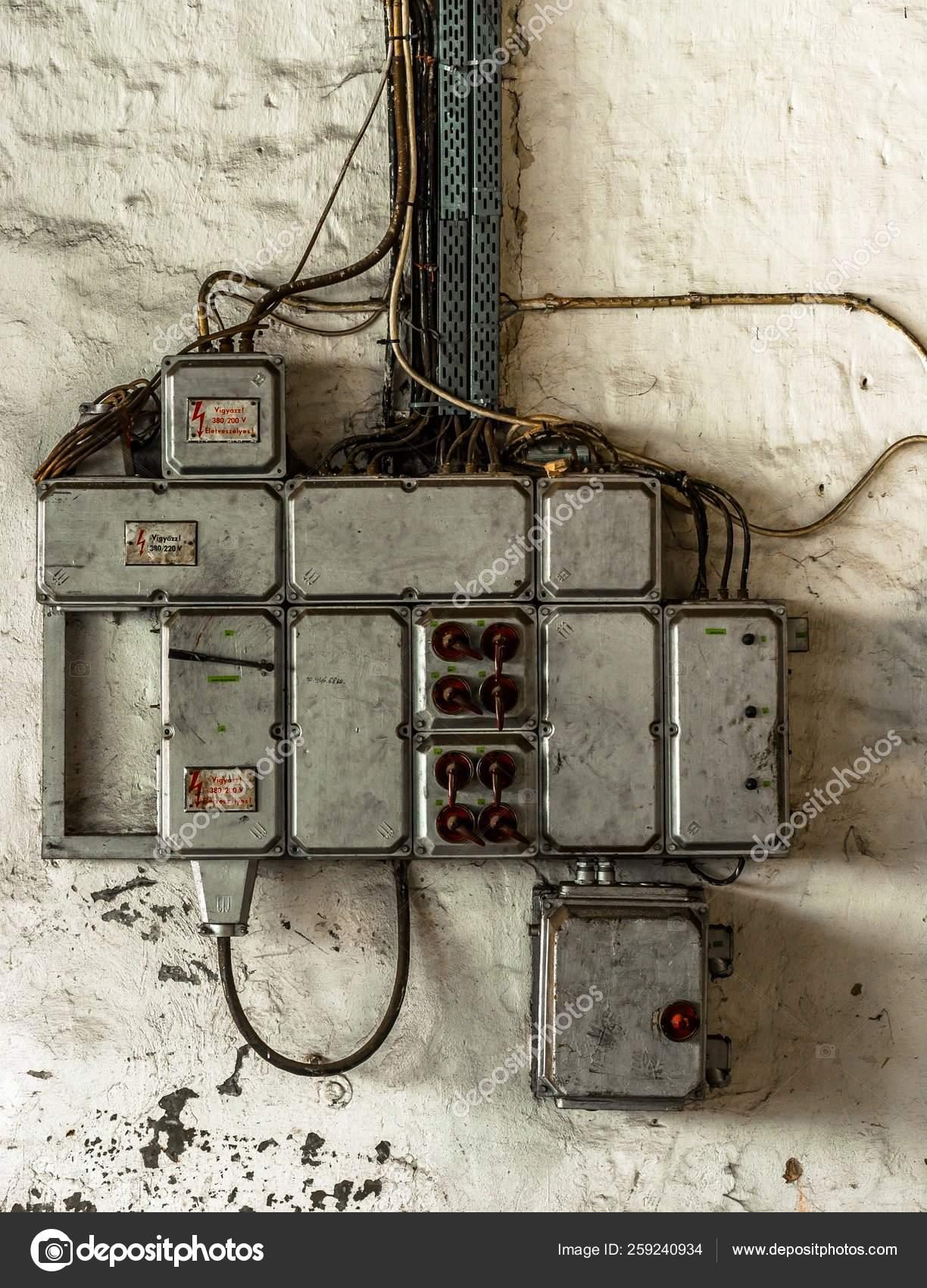 [SCHEMATICS_48YU]  Industrial Fuse Box Wall Closeup Photo — Stock Photo © YAYImages #259240934 | Industrial Fuse Box |  | Depositphotos