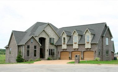 Your dream house is a large, expensive mansion. Great for real estate advertising.