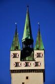 Turm in Straubing, Bayern
