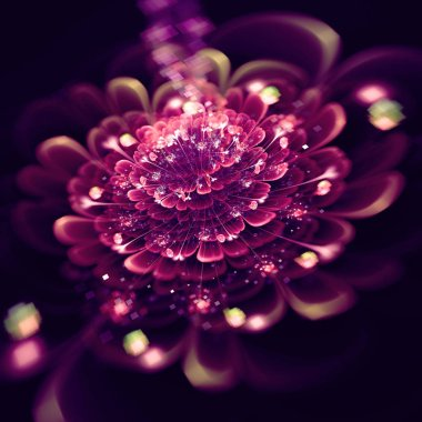 "Картина, постер, плакат, фотообои ""purple flowers on black"", артикул 260578482"