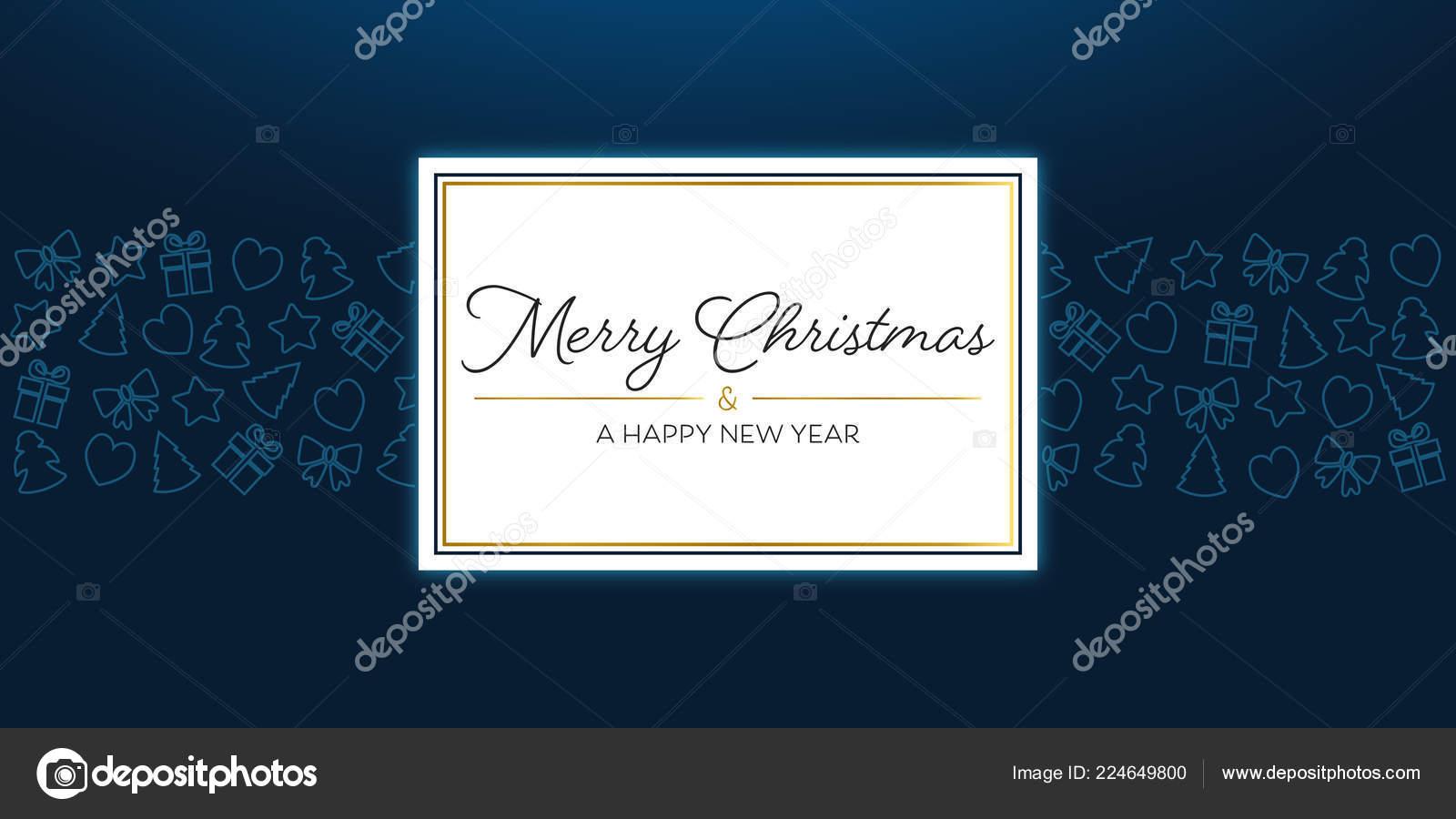 Weihnachtsgrüße Deutsch.Weihnachtsgrüße Deutsch Merry Christmas Hintergrund Mit Symbolen