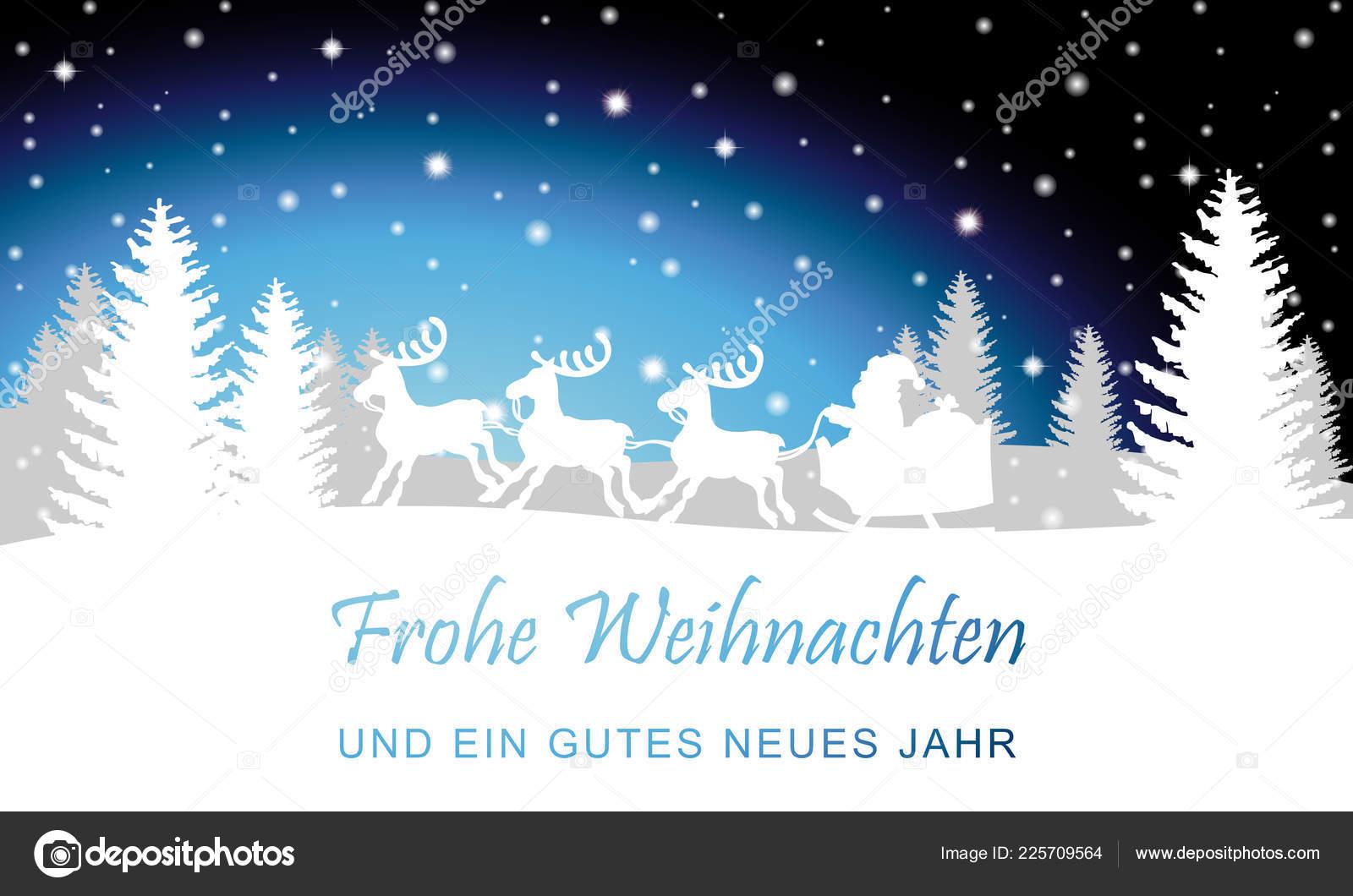 Winter landscape reindeer holiday greetings stock vector ii winter landscape reindeer holiday greetings stock vector m4hsunfo