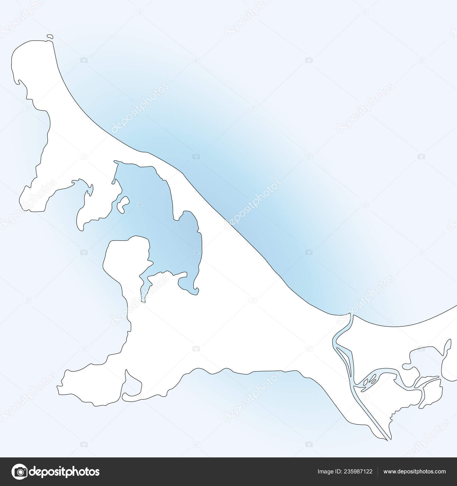 Usedom Karte Grenze.Deutschland Karte Der Insel Usedom Stockvektor Ii Graphics