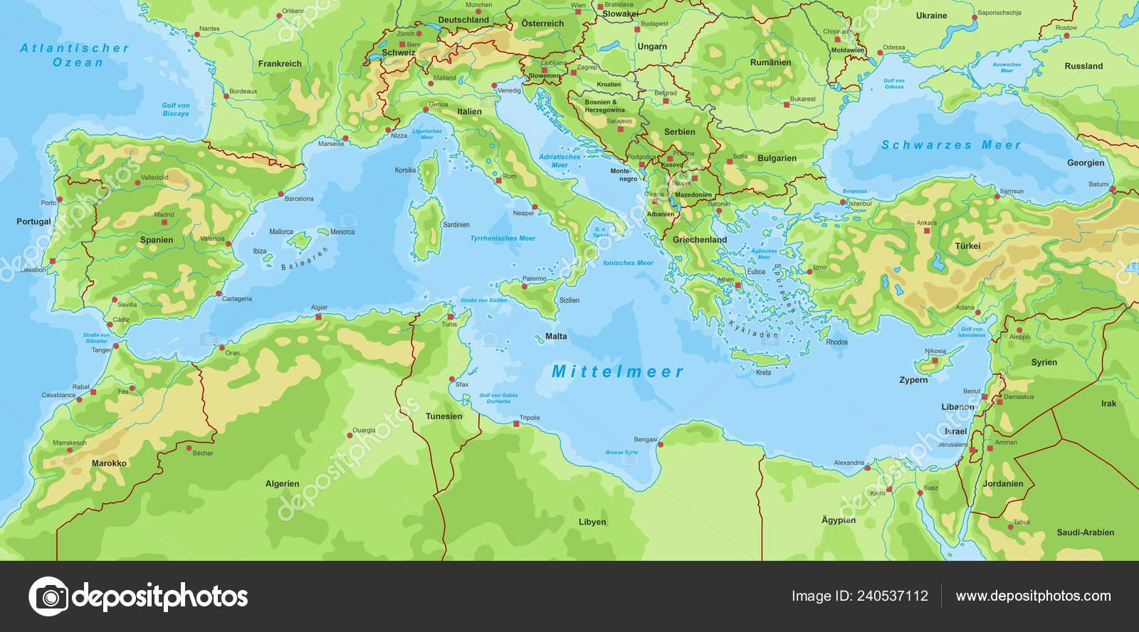 Mare Mediterraneo Cartina.Mappa Del Mediterraneo Vettori Stock Immagini Disegni Mappa Del Mediterraneo Grafica Vettoriale Da Depositphotos
