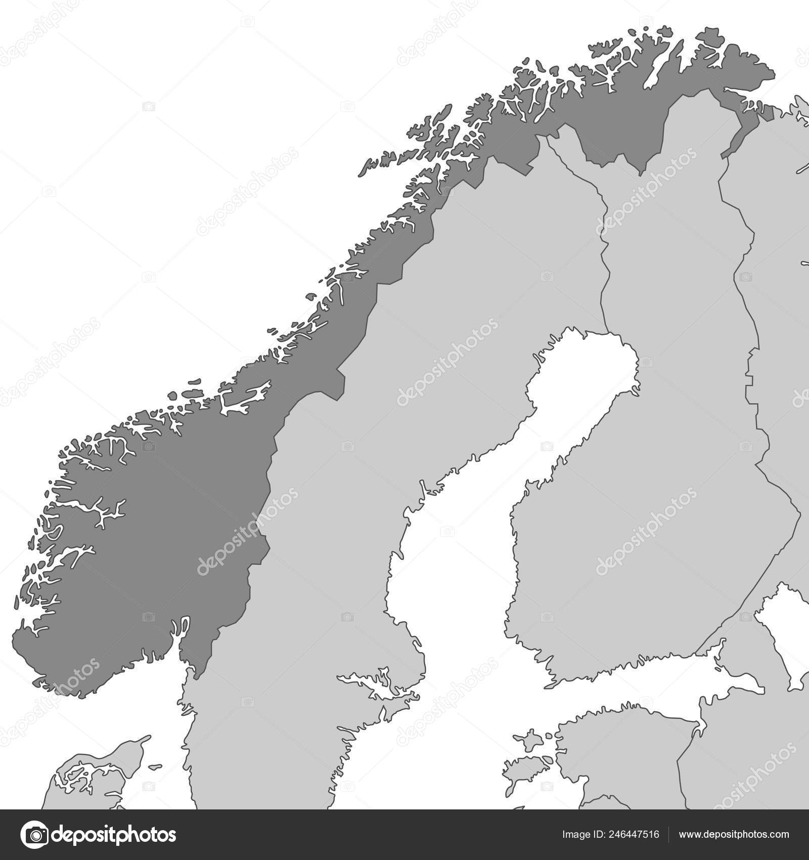 Map Scandinavia High Detailed Vector — Stock Vector © ii-graphics on map of sweden, map of holland, map of norway, map of ireland, map of benelux, map of british isles, map of iceland, map of england, map of canada, map of austria, map of australia, map of germany, map of georgia, map of africa, map of pakistan, map of the pyrenees, map of denmark, map of netherlands,