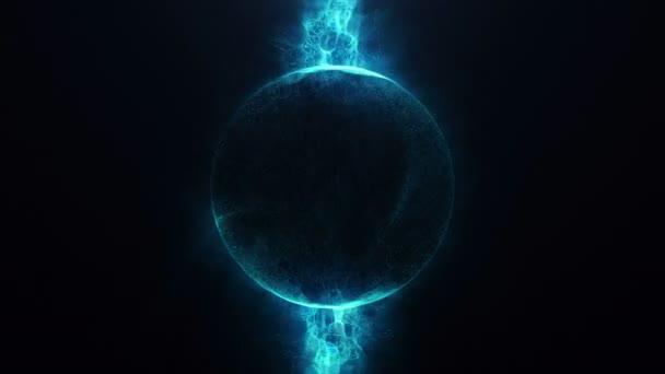 Kroužek se energie kapaliny 4k