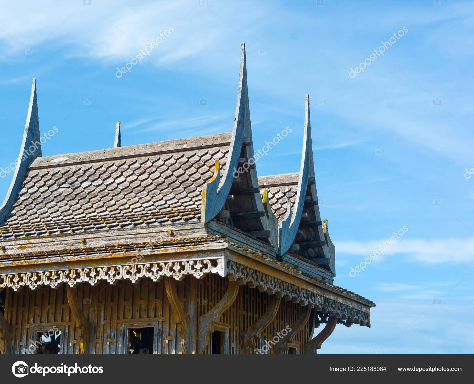 Pictures Thai House Designs Architecture Art Style Thai House Thailand Unique Roof Top Design Stock Photo C Asiaoutlook Gmail Com 225188084