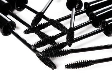 Mascara wands isolated on white background stock vector